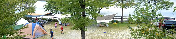 花の湖オートキャンプ場